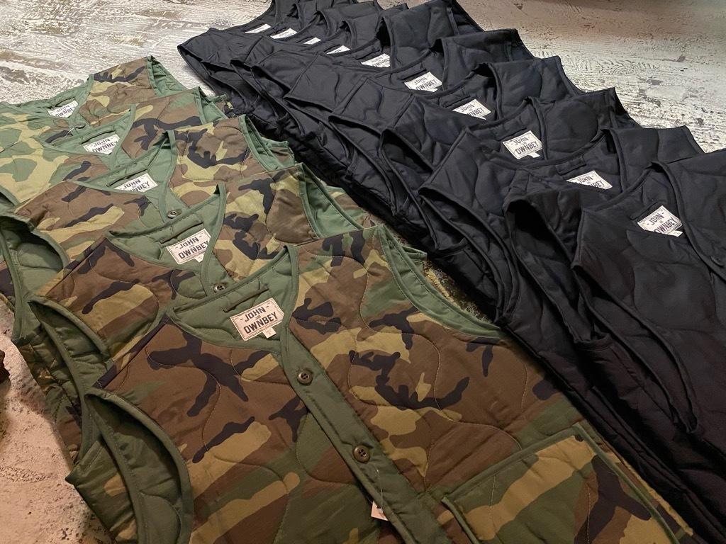"""4月3日(土)マグネッツ大阪店スーペリア入荷日‼#2 NOS \""""JOHN OWNBEY\""""Quilting Nylon Woobie Vest Made In USA!!_c0078587_15491152.jpg"""