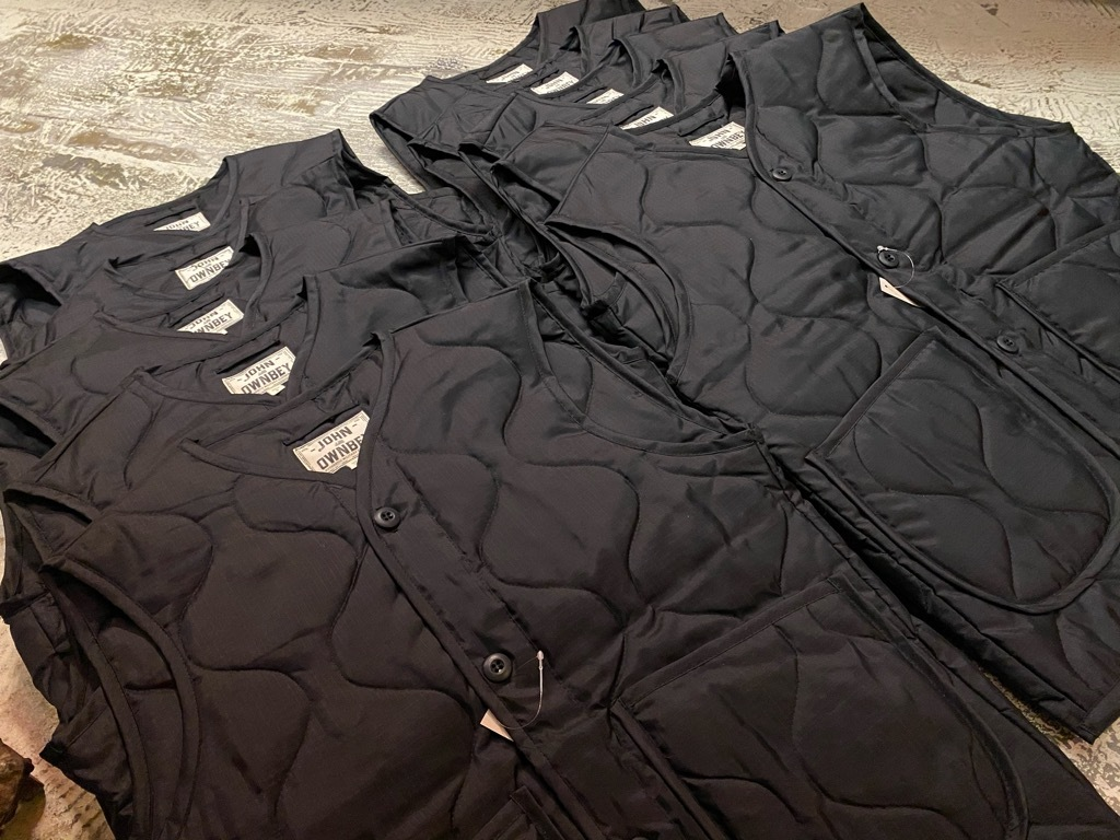 """4月3日(土)マグネッツ大阪店スーペリア入荷日‼#2 NOS \""""JOHN OWNBEY\""""Quilting Nylon Woobie Vest Made In USA!!_c0078587_15491627.jpg"""