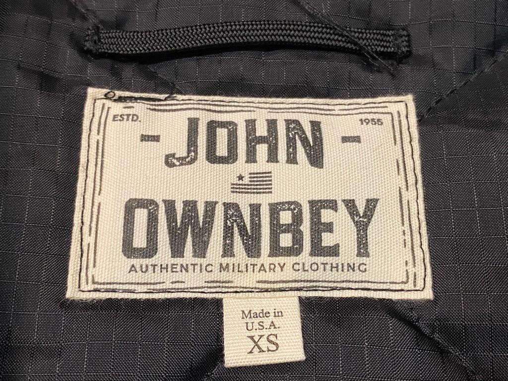 """4月3日(土)マグネッツ大阪店スーペリア入荷日‼#2 NOS \""""JOHN OWNBEY\""""Quilting Nylon Woobie Vest Made In USA!!_c0078587_15491887.jpg"""