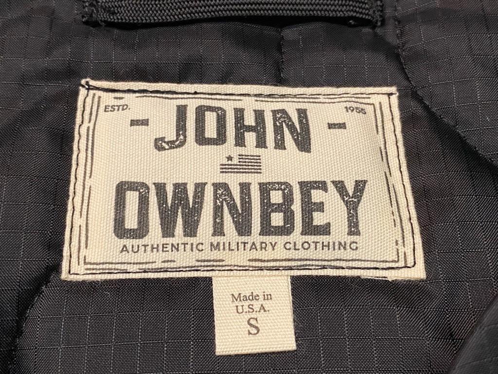 """4月3日(土)マグネッツ大阪店スーペリア入荷日‼#2 NOS \""""JOHN OWNBEY\""""Quilting Nylon Woobie Vest Made In USA!!_c0078587_15492080.jpg"""