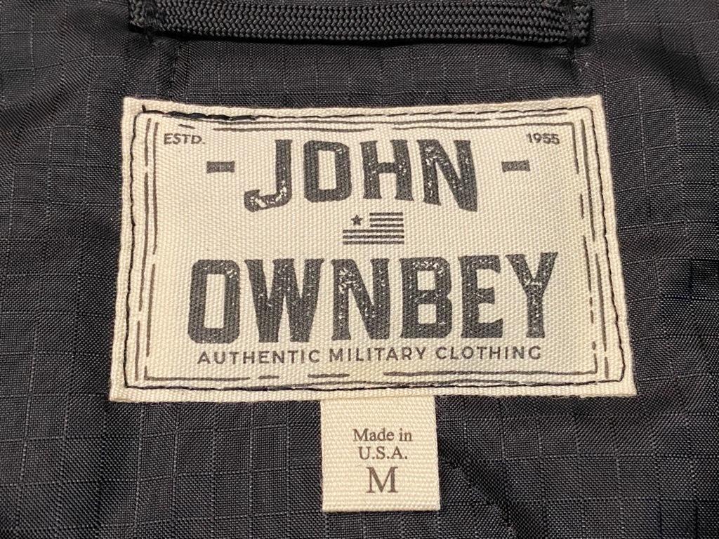 """4月3日(土)マグネッツ大阪店スーペリア入荷日‼#2 NOS \""""JOHN OWNBEY\""""Quilting Nylon Woobie Vest Made In USA!!_c0078587_15492237.jpg"""