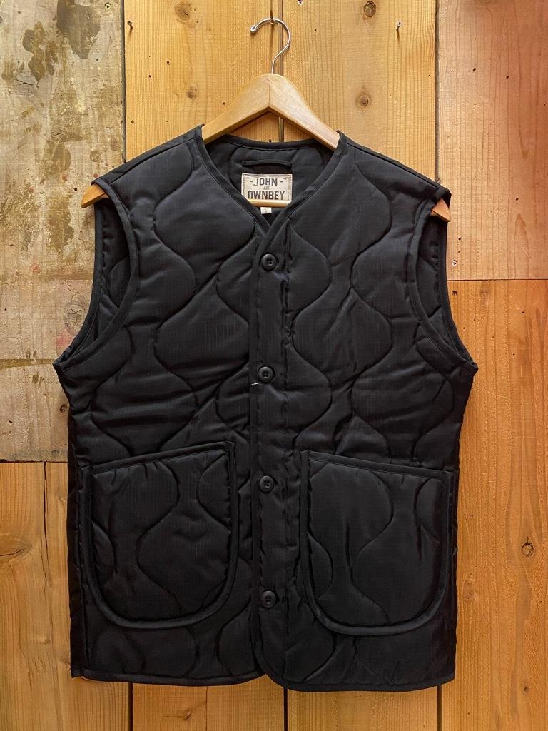"""4月3日(土)マグネッツ大阪店スーペリア入荷日‼#2 NOS \""""JOHN OWNBEY\""""Quilting Nylon Woobie Vest Made In USA!!_c0078587_15492482.jpg"""