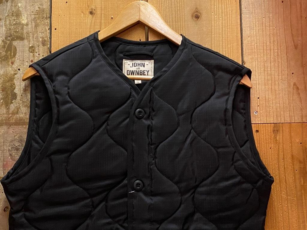 """4月3日(土)マグネッツ大阪店スーペリア入荷日‼#2 NOS \""""JOHN OWNBEY\""""Quilting Nylon Woobie Vest Made In USA!!_c0078587_15492781.jpg"""
