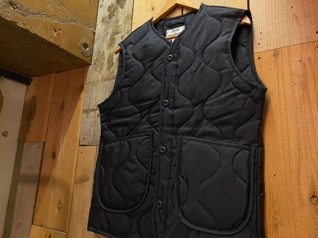 """4月3日(土)マグネッツ大阪店スーペリア入荷日‼#2 NOS \""""JOHN OWNBEY\""""Quilting Nylon Woobie Vest Made In USA!!_c0078587_15493391.jpg"""