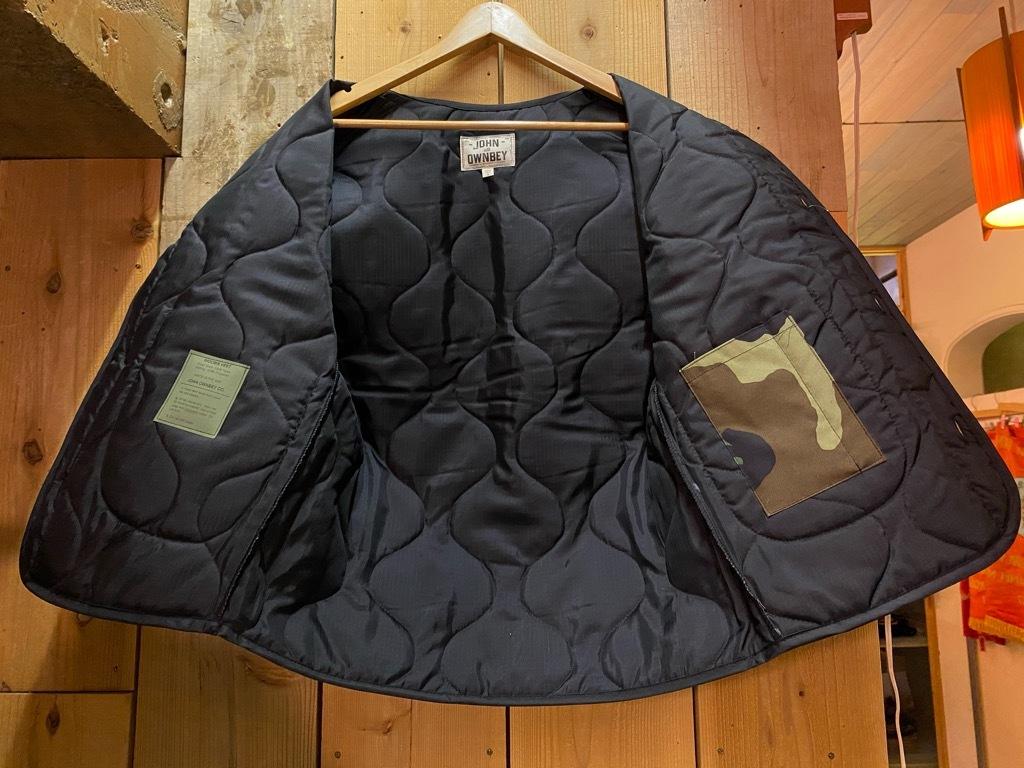 """4月3日(土)マグネッツ大阪店スーペリア入荷日‼#2 NOS \""""JOHN OWNBEY\""""Quilting Nylon Woobie Vest Made In USA!!_c0078587_15493555.jpg"""