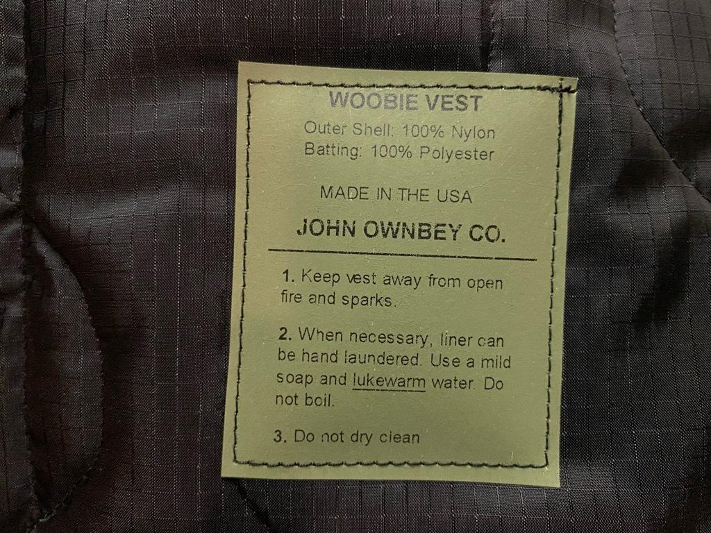 """4月3日(土)マグネッツ大阪店スーペリア入荷日‼#2 NOS \""""JOHN OWNBEY\""""Quilting Nylon Woobie Vest Made In USA!!_c0078587_15493767.jpg"""