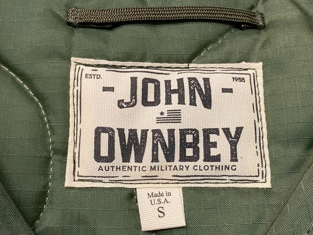 """4月3日(土)マグネッツ大阪店スーペリア入荷日‼#2 NOS \""""JOHN OWNBEY\""""Quilting Nylon Woobie Vest Made In USA!!_c0078587_17074229.jpg"""