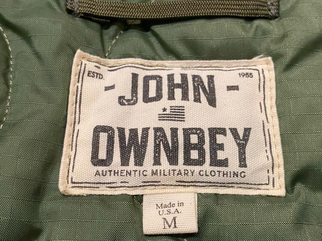 """4月3日(土)マグネッツ大阪店スーペリア入荷日‼#2 NOS \""""JOHN OWNBEY\""""Quilting Nylon Woobie Vest Made In USA!!_c0078587_17074413.jpg"""