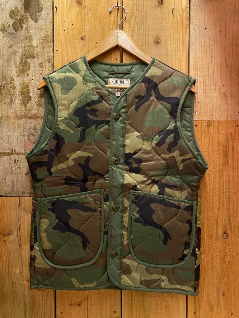 """4月3日(土)マグネッツ大阪店スーペリア入荷日‼#2 NOS \""""JOHN OWNBEY\""""Quilting Nylon Woobie Vest Made In USA!!_c0078587_17074609.jpg"""