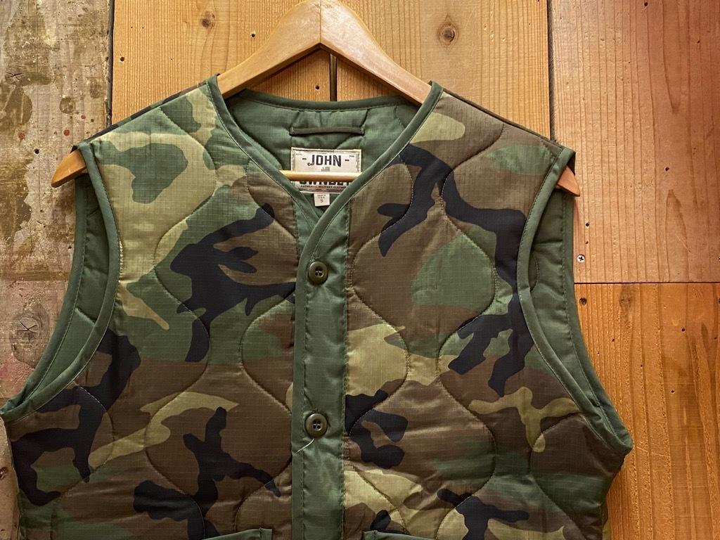 """4月3日(土)マグネッツ大阪店スーペリア入荷日‼#2 NOS \""""JOHN OWNBEY\""""Quilting Nylon Woobie Vest Made In USA!!_c0078587_17074748.jpg"""