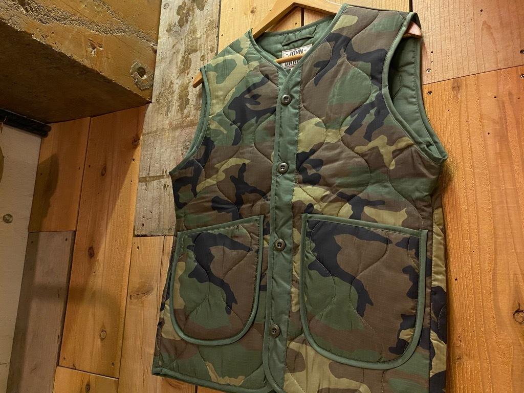 """4月3日(土)マグネッツ大阪店スーペリア入荷日‼#2 NOS \""""JOHN OWNBEY\""""Quilting Nylon Woobie Vest Made In USA!!_c0078587_17075703.jpg"""