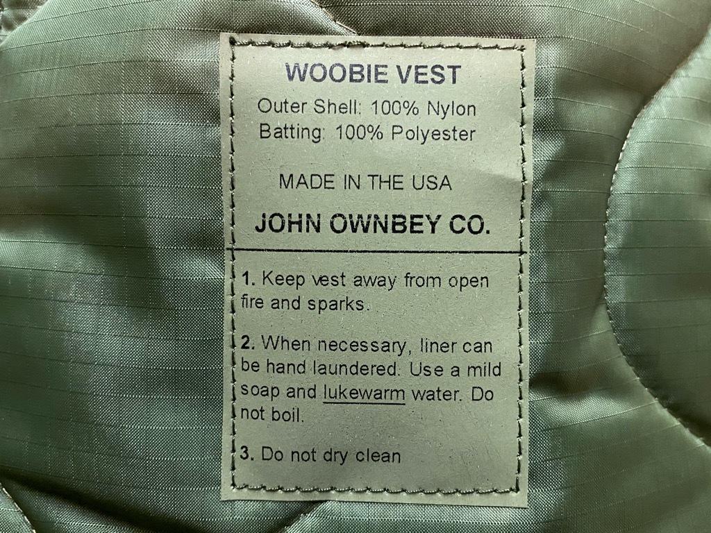 """4月3日(土)マグネッツ大阪店スーペリア入荷日‼#2 NOS \""""JOHN OWNBEY\""""Quilting Nylon Woobie Vest Made In USA!!_c0078587_17080077.jpg"""