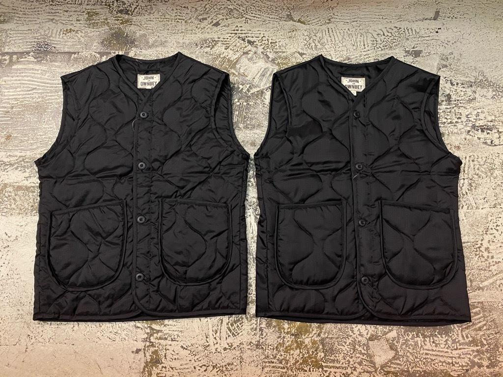 """4月3日(土)マグネッツ大阪店スーペリア入荷日‼#2 NOS \""""JOHN OWNBEY\""""Quilting Nylon Woobie Vest Made In USA!!_c0078587_17080719.jpg"""