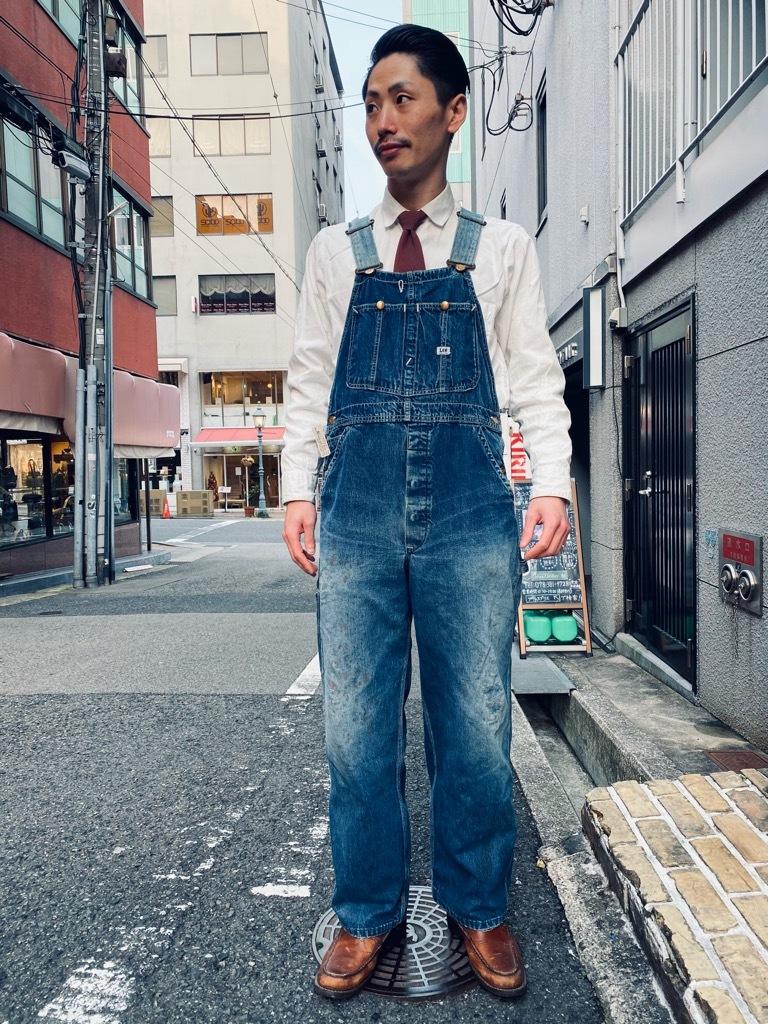 マグネッツ神戸店 3/31(水)Vintage入荷! #4 Vintage OverAll !!!_c0078587_17391387.jpg