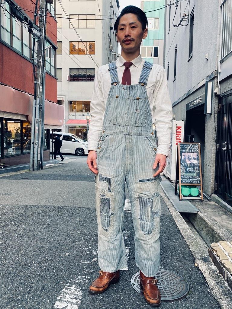 マグネッツ神戸店 3/31(水)Vintage入荷! #4 Vintage OverAll !!!_c0078587_17400388.jpg