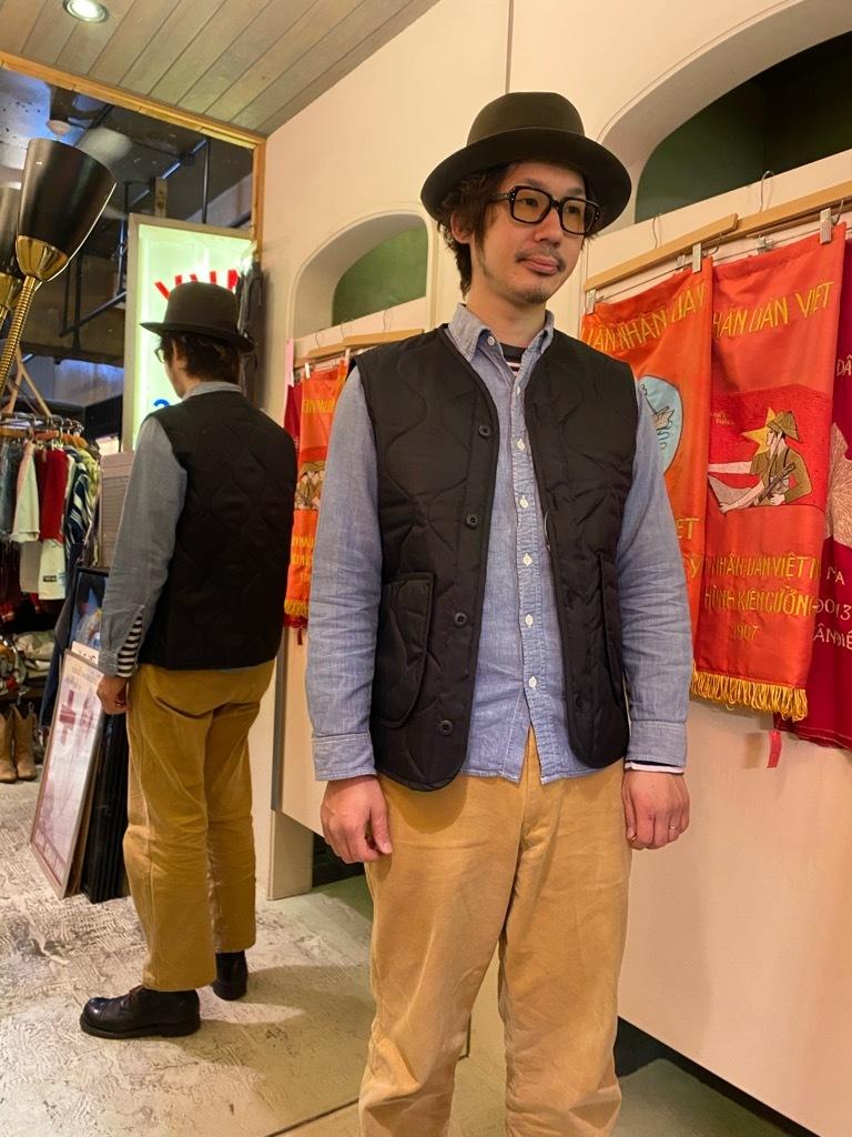 """4月3日(土)マグネッツ大阪店スーペリア入荷日‼#2 NOS \""""JOHN OWNBEY\""""Quilting Nylon Woobie Vest Made In USA!!_c0078587_23385906.jpg"""