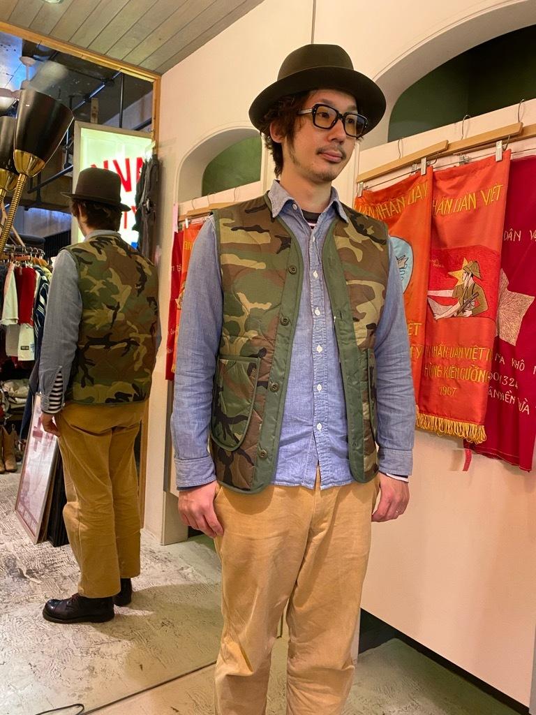 """4月3日(土)マグネッツ大阪店スーペリア入荷日‼#2 NOS \""""JOHN OWNBEY\""""Quilting Nylon Woobie Vest Made In USA!!_c0078587_23390040.jpg"""