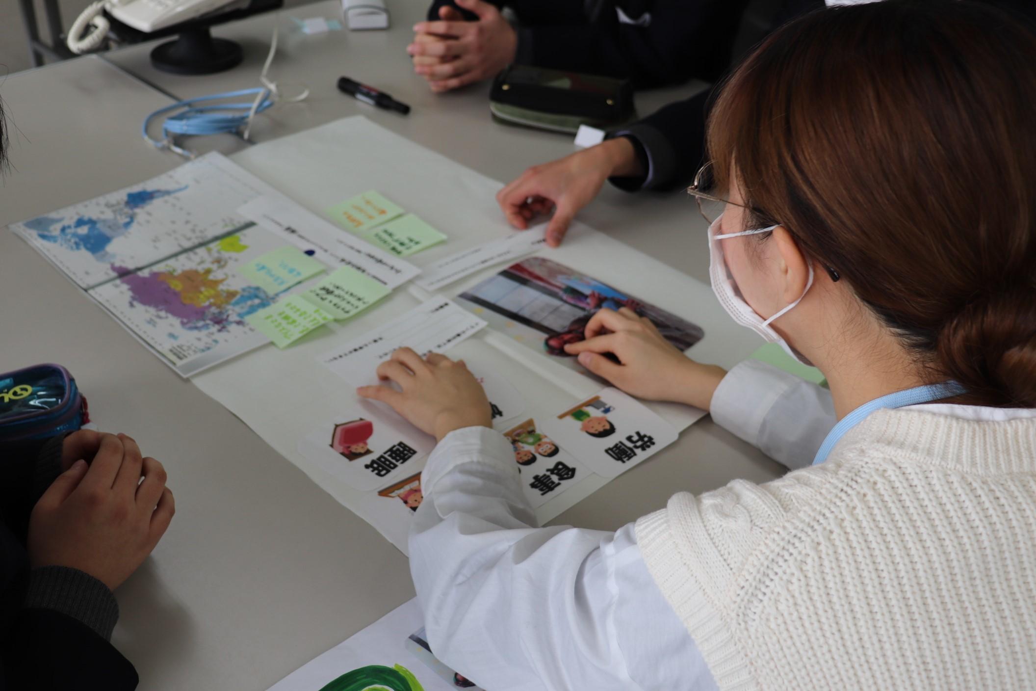 新潟県立新発田商業高校においてワークショップを行いました_c0167632_15415251.jpg