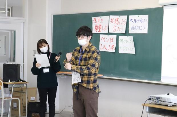 新潟第一中学校においてワークショップを行いました_c0167632_15594124.jpg