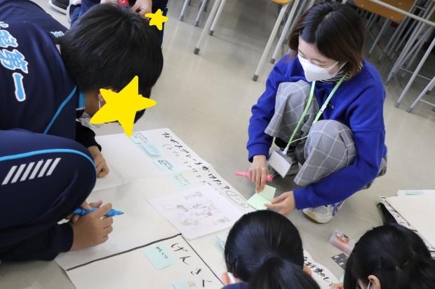 新潟第一中学校においてワークショップを行いました_c0167632_16013942.jpg