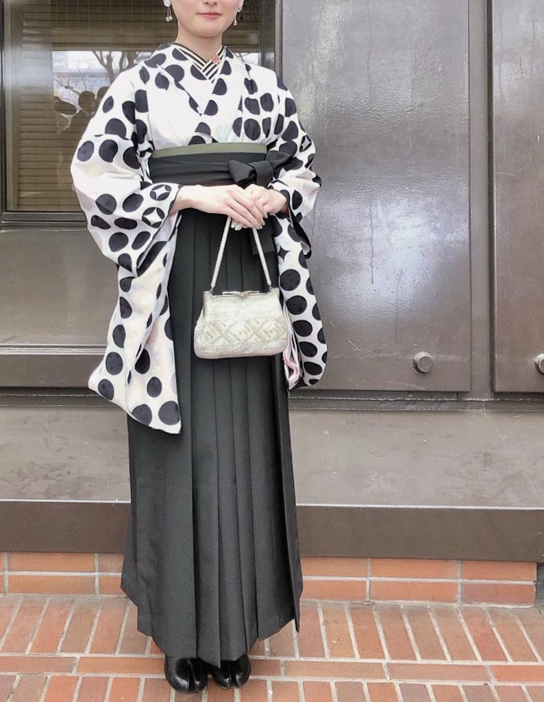 Kちゃんの新作卒業袴&新作二尺袖Kimono_d0335577_11380422.jpg