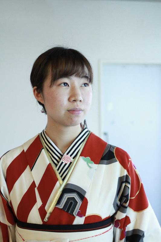 Kちゃんの新作卒業袴&新作二尺袖Kimono_d0335577_11425284.jpg