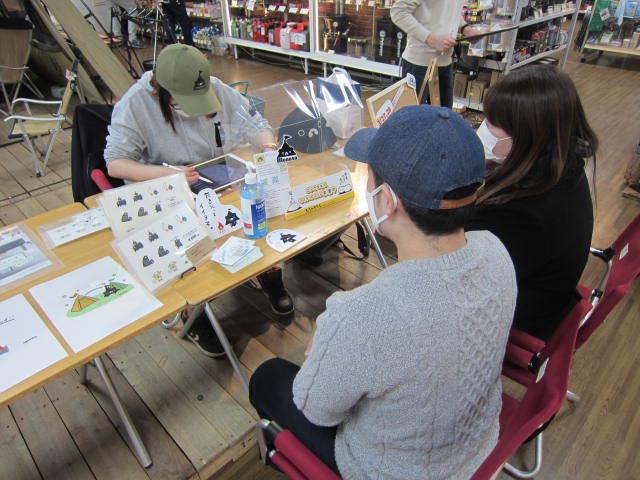 ゴトウマキエさんご来店イベント、盛況でした^ー^_d0198793_09305515.jpg