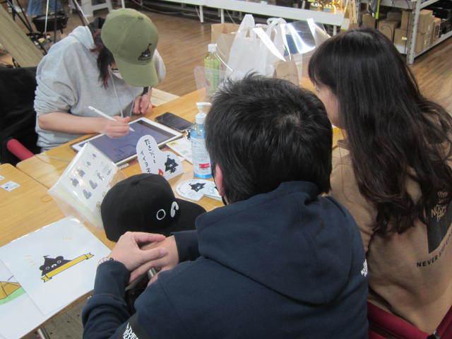 ゴトウマキエさんご来店イベント、盛況でした^ー^_d0198793_09313655.jpg