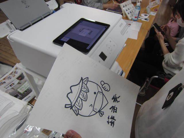 ゴトウマキエさんご来店イベント、盛況でした^ー^_d0198793_09322911.jpg