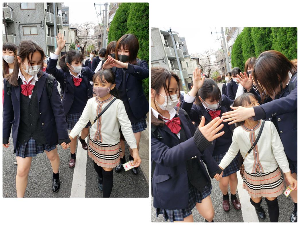 卒業生ちゃん、現役ちゃん、お姉ちゃん達の桜…_d0224894_10453079.jpg