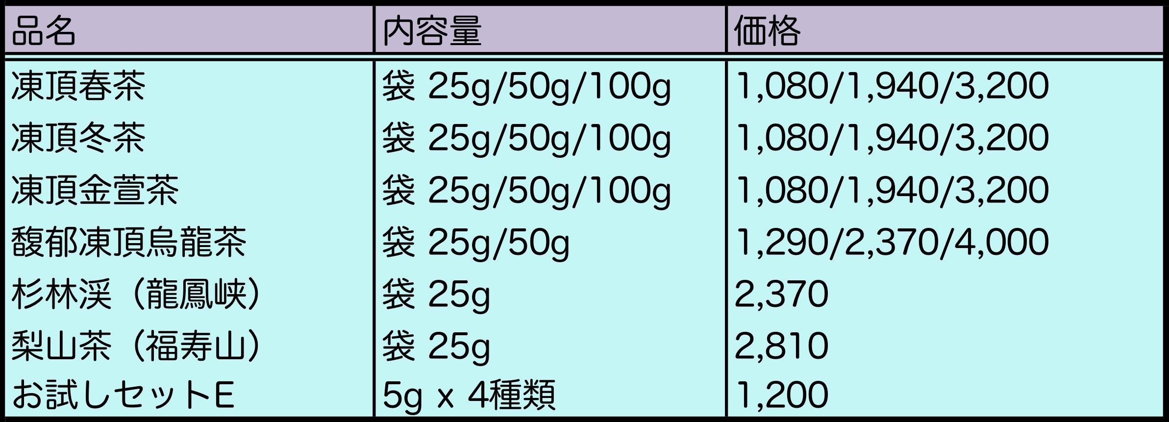 茶譜 2021年5月 ー岩茶以外_b0151300_12392400.jpeg