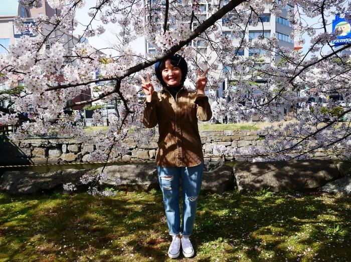 和歌山城公園にて  2021-04-01 00:00_b0093754_23352903.jpg