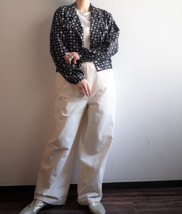 From Vintage Room◆紋柄ショートシャツJKT_e0269968_15533119.jpg