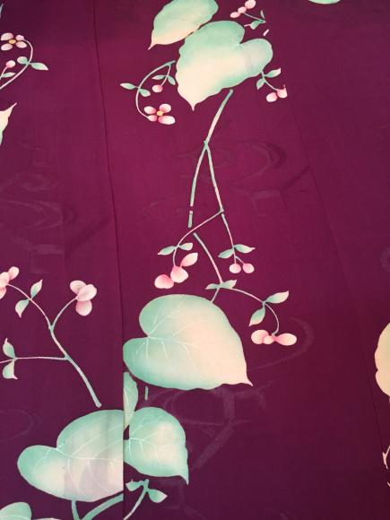 4/3より!「空フル〜カラフル〜vol.18in目黒不動前」 臙脂花単衣着物×デコデザインお花帯♪販売商品22_c0321302_14431180.jpg
