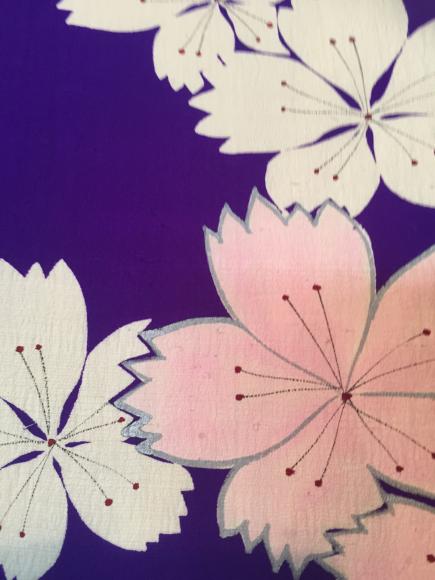 4/3より!「空フル〜カラフル〜vol.18in目黒不動前」紫にピンク白撫子単衣着物×藤に蜂帯♪販売商品15_c0321302_15010774.jpg