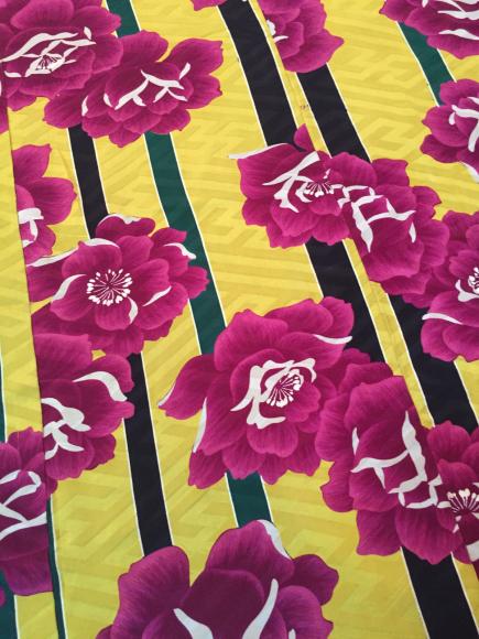 4/3より!「空フル〜カラフル〜vol.18in目黒不動前」逸品!ストライプに薔薇着物×紫ダリヤ帯♪販売商品13_c0321302_15115735.jpg