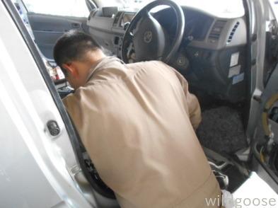 ハイエース オイル漏れ修理中(*゚▽゚)ノ _c0213517_15532956.jpg