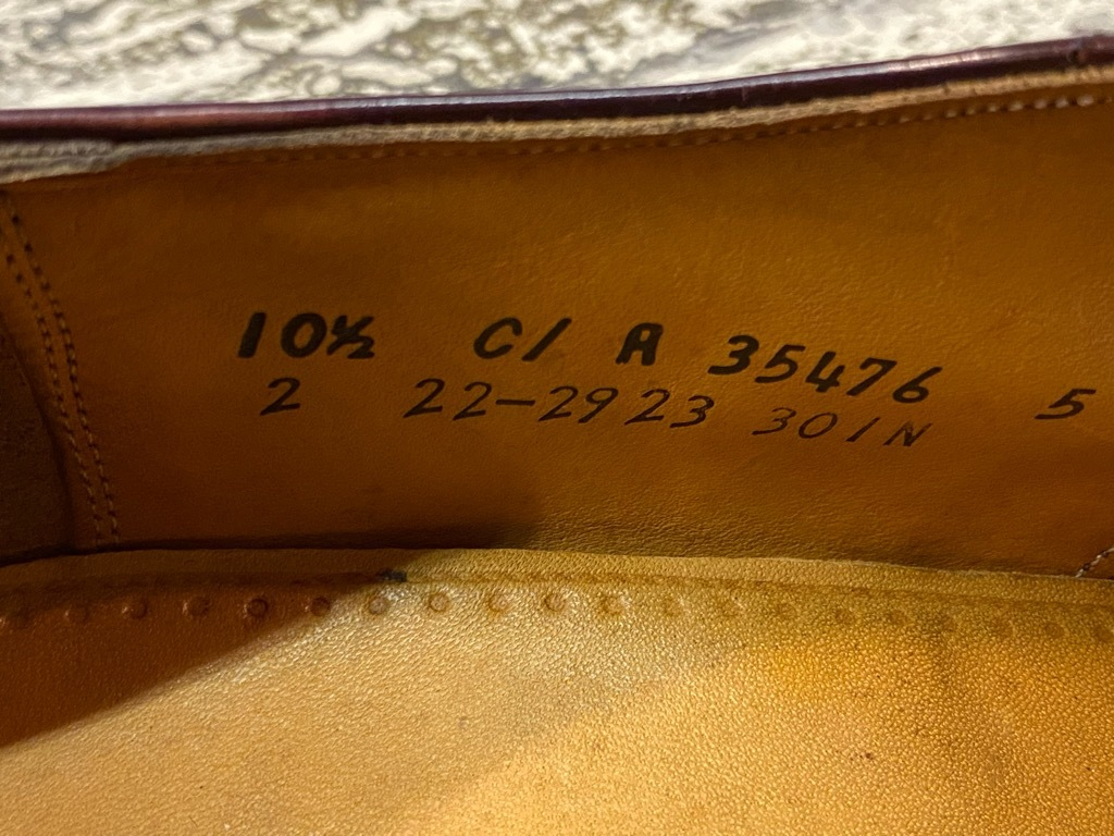 4月3日(土)マグネッツ大阪店スーペリア入荷日‼#5 LeatherShoes編!! Alden,Johnston&Murphy,AllenEdmonds,STAFFORD!!_c0078587_16132599.jpg