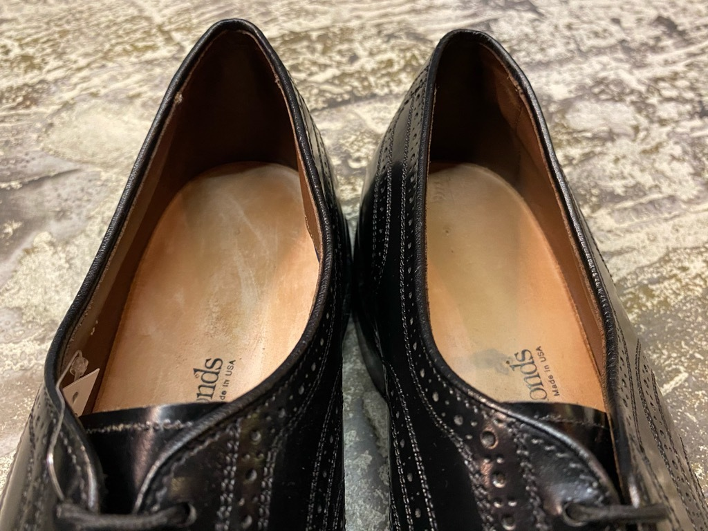 4月3日(土)マグネッツ大阪店スーペリア入荷日‼#5 LeatherShoes編!! Alden,Johnston&Murphy,AllenEdmonds,STAFFORD!!_c0078587_16141228.jpg
