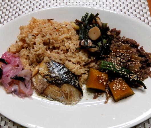 米国東海岸に届く『和食ミール・キット』のBentOn(べんとおん)、さばの塩焼き和食御膳 -Kit-編_b0007805_04141306.jpg
