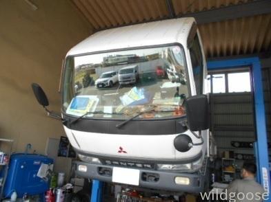 FB51ABXキャンタートラック 車検整備中(≧∇≦*)_c0213517_15473608.jpg