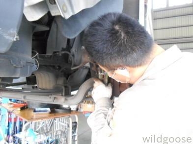 FB51ABXキャンタートラック 車検整備中(≧∇≦*)_c0213517_15473613.jpg
