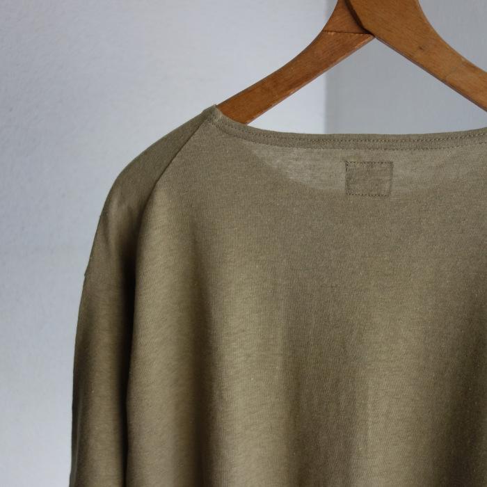 6月の製作 / DA cotton-belgiumlinen halfsleeve_e0130546_14333623.jpg