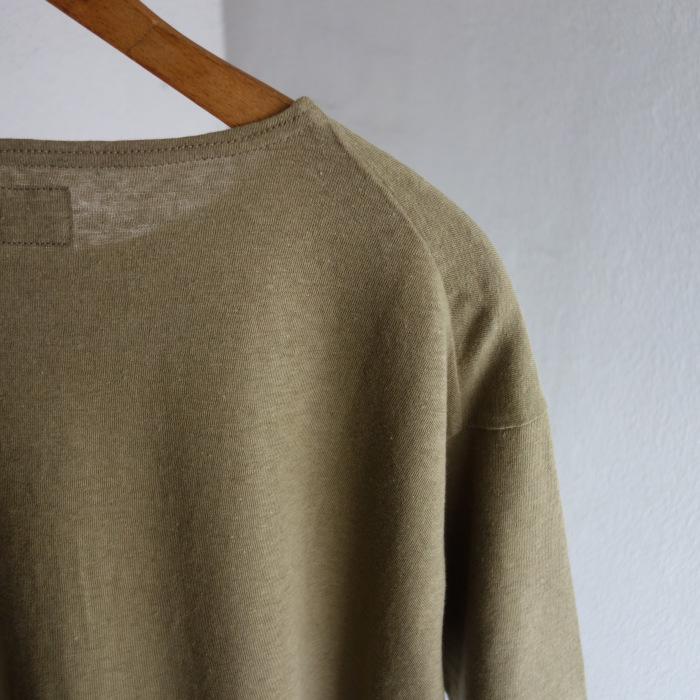 6月の製作 / DA cotton-belgiumlinen halfsleeve_e0130546_14334493.jpg