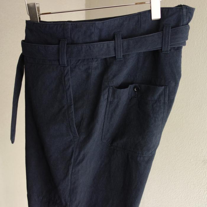 6月の製作 / tanker work cotton-linen pants / 別注品_e0130546_15533926.jpg