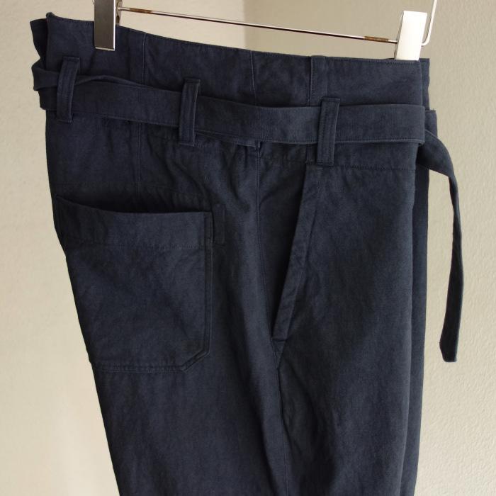 6月の製作 / tanker work cotton-linen pants / 別注品_e0130546_15534876.jpg