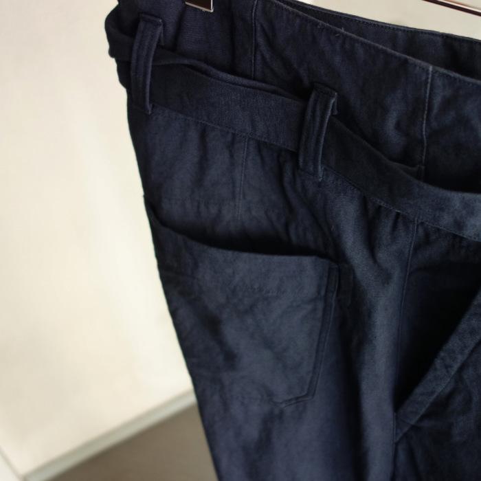 6月の製作 / tanker work cotton-linen pants / 別注品_e0130546_15540613.jpg