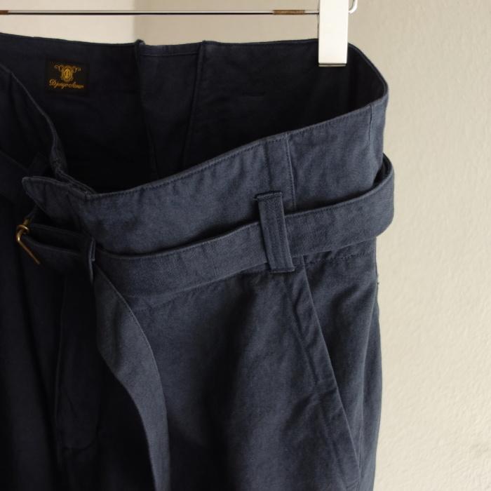 6月の製作 / tanker work cotton-linen pants / 別注品_e0130546_15542851.jpg