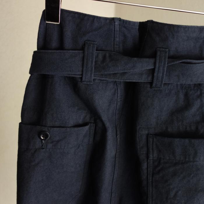 6月の製作 / tanker work cotton-linen pants / 別注品_e0130546_15543831.jpg
