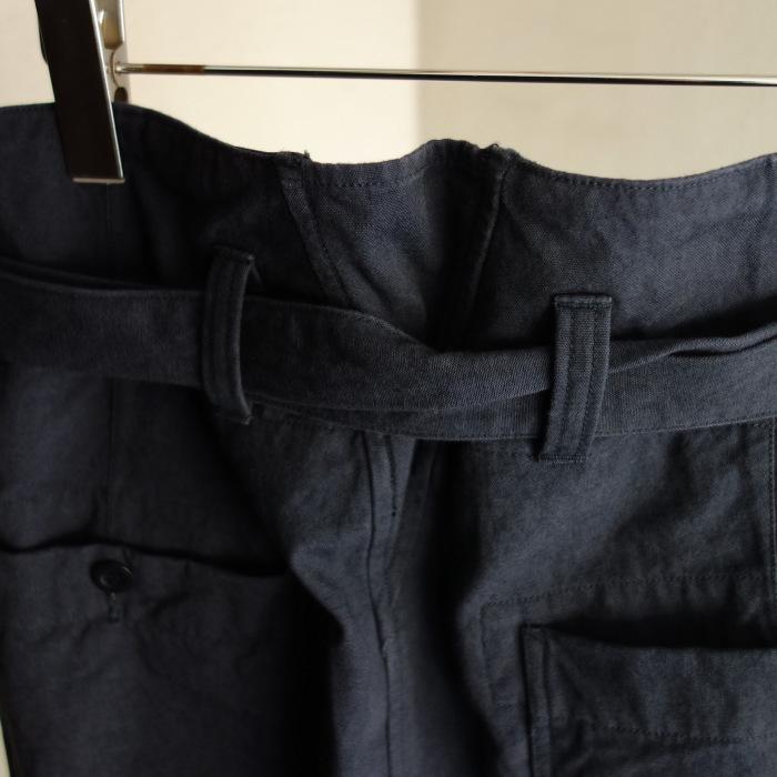 6月の製作 / tanker work cotton-linen pants / 別注品_e0130546_15565393.jpg